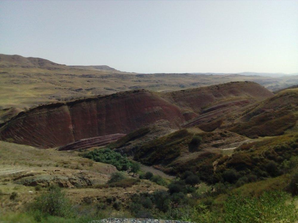1. Пейзаж вблизи монастыря Давид Гареджи