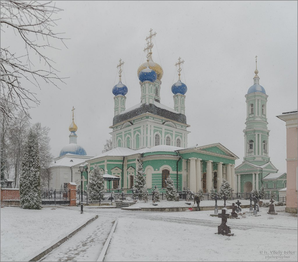 Под снежным покровом (снимок сделан 18 декабря 2017 г.)