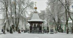 С Рождеством Христовым! (снимок сделан 28 декабря 2016 г.)