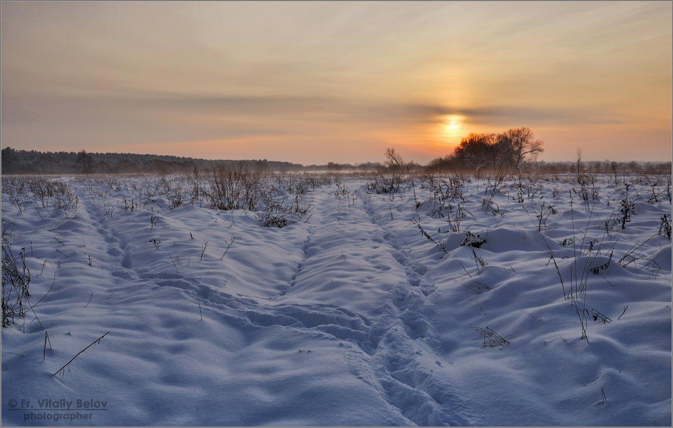 Под белым саваном (снимок сделан 9 декабря 2012 г.)