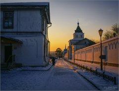 Теплый закат (снимок сделан 13 февраля 2012 г.)