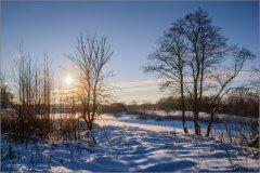Январские светотени (снимок сделан 24 января 2016 г.)