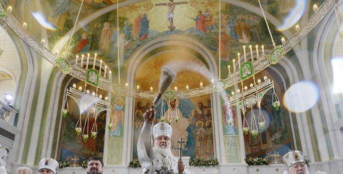 В день памяти сщмч. Илариона, архиеп. Верейского (1929) было освящено место под строительство нового храма Сретенского монастыря