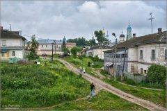 По истоптанным Оптинским дорожкам (снимок сделан 10 июня 2012 г.)