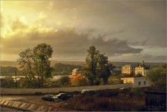 Дождь и солнце (снимок сделан 29 сентября 2009 г.)