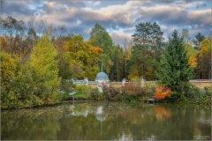 Осень на пруду (снимок сделан 1 октября 2014 г.)