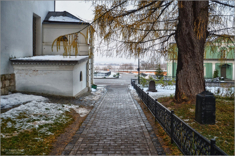 Первый снег (снимок сделан 2 ноября 2012 г.)