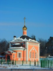 Храм Всех святых на старом монастырском кладбище
