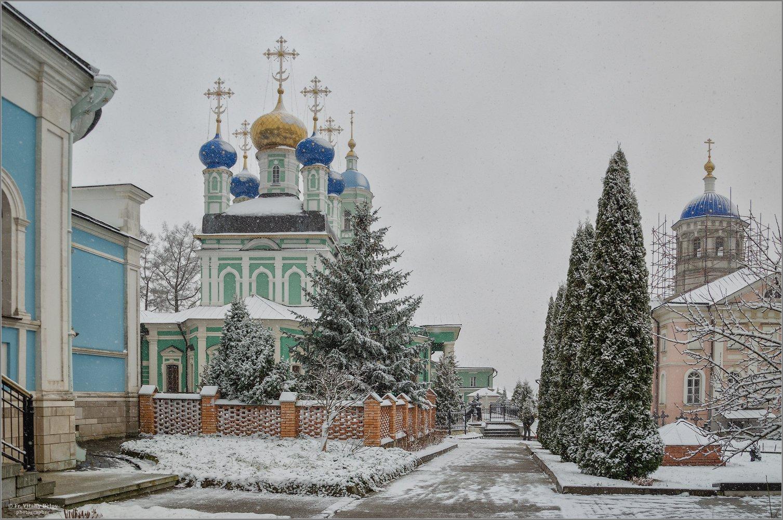 Первый снег декабря прошлого года в этот самый день