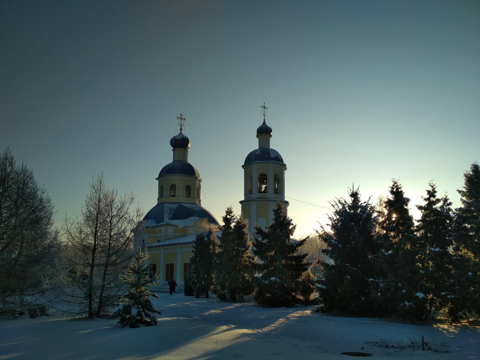 Московское зимнее утро