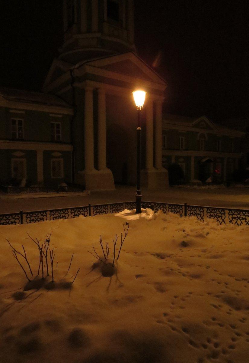 Одинокий в ночи