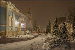 Тишина зимний ночи. С ПРАЗДНИКОМ КРЕЩЕНИЯ ГОСПОДНЯ!!!