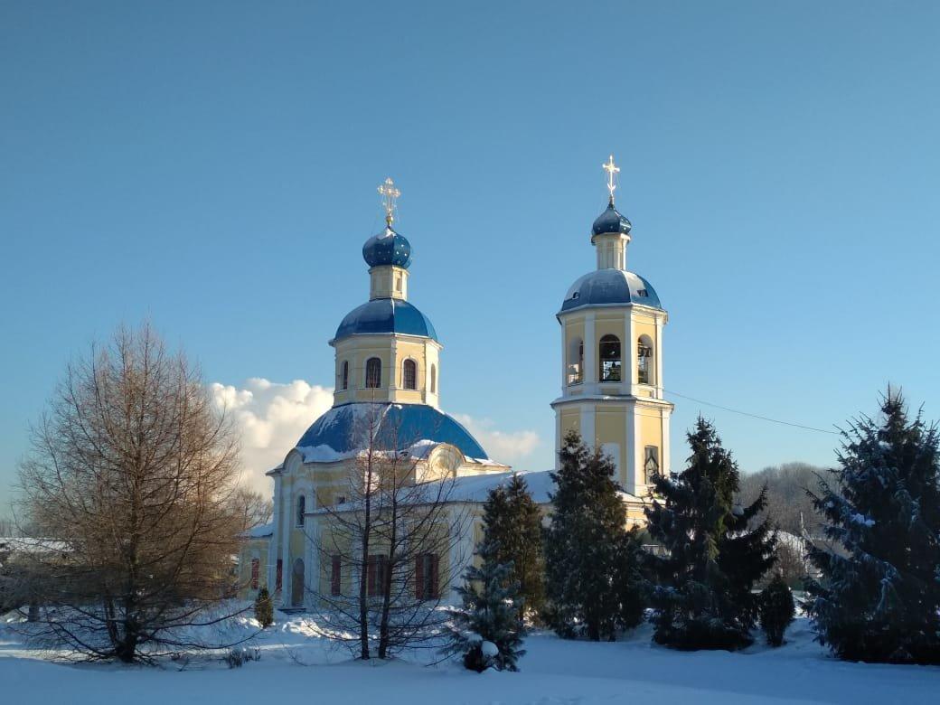 Прощаемся с зимой на подворье монастыря