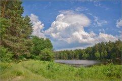Облако над озером_1