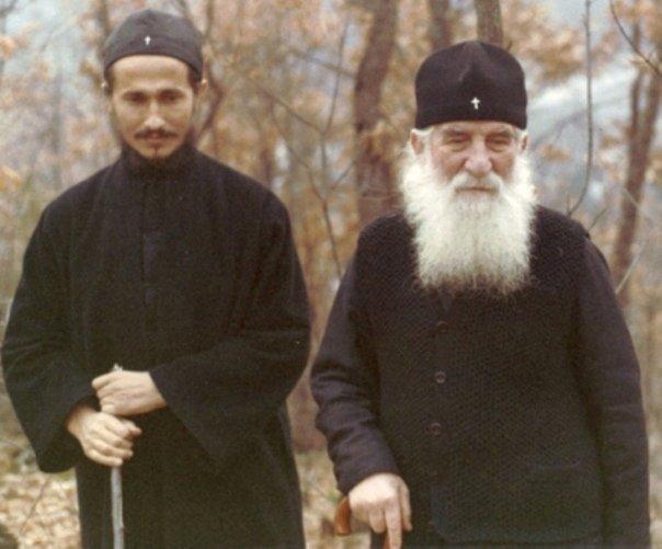 Епископ Афанасий (Евтич) и преподобный Иустин (Попович)