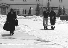 """на центральной """"улице"""" монастыря"""