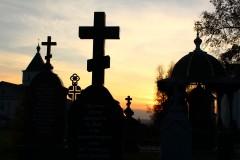 Монастырские кресты.