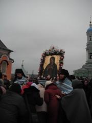 проводы Калужской иконы Богоматери в Козельск