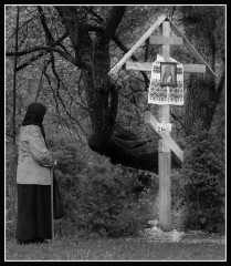 Кто хочет идти за Мною, отвергнись себя, и возьми крест свой, и следуй за Мною