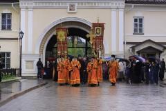 Крестный ход вернулся в Монастырь