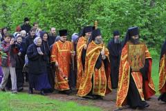 На обратном пути в Монастырь