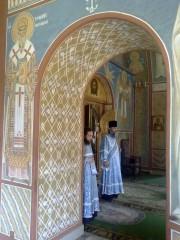 Литургия во Владимирском храме.  Оптина Пустынь