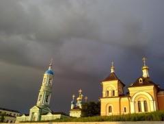 Дождь в Оптиной