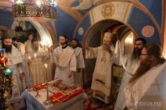 Великое освящение храма в честь архангела Михаила