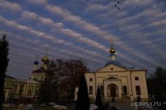 Да радуется днесь небо свыше, и oблацы веселие да кропят...