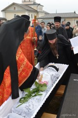 Отпевание и похороны иеромонаха Алипия (Комиссарова)