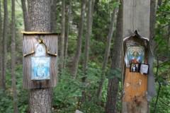 Иконы у источника св. Параскевы Пятницы