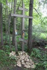 Крест у источника св. Параскевы Пятницы