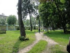 Иоано-Предтеченский скит:  летнее утро
