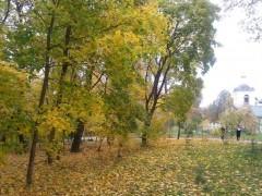 Оптинская осень совсем другая!
