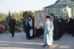 Царица Небесная посетила Оптину