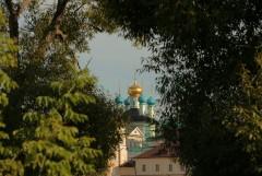 Вид монастыря с п/х