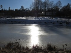 озеро у скита