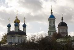 Введенский собор, колокольня и Храм в честь прп. Марии Египетской