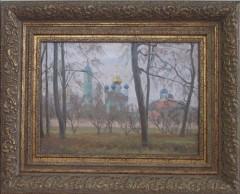 """"""" Ноябрь в Оптиной"""" худ. Илья Яценко"""