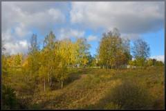 Осень на склоне ( 29 сентября 2012 г.)