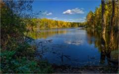Осень на озере (снимок сделан 28 сентября 2014 г.)