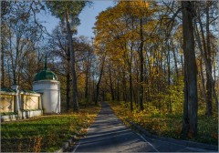 Теплый осенний день ( Снимок сделан 14 октября 2013 г.)