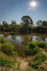 Спуск к реке ( Снимок сделан 11 сентября 2014 г.)
