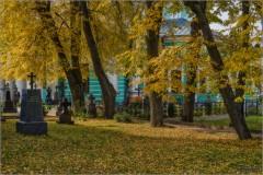 Осень в разгаре (снимок сделан 3 октября 2016 г.)