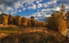 Осень в разгаре ( Снимок сделан 1 октября 2014 г.)