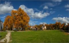 Осенние краски природы (снимок сделан 28 сентября 2014 г.)