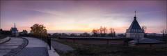 Оптинский закат ( Снимок сделан 12 октября 2013 г.)