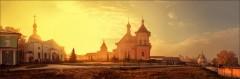 Тепло благодатной обители Оптиной ( Снимок сделан 11 октября 2013 г.)
