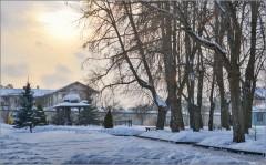 На монастырской территории ( Снимок сделан 11 января 2013 г.)