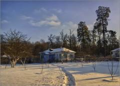 Теплый свет ( Снимок сделан 26 января 2014 г.)